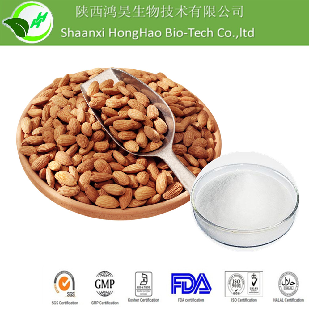 ISO Factory Honghao Professional Supply Plant Herb Extract Amygdalin With Moderate Price