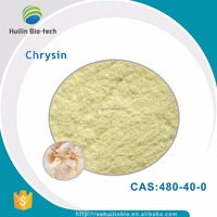 High quality pure natural 98% Butterfly wood extract Chrysin Powder CAS 480-40-0