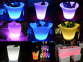 Remote control LED ice bucket color changing LED Champagne /Beer bucket