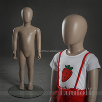 little girl modeling lifelike full body mannequin