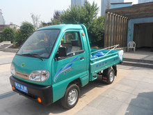 4 wheel 2 seat electric cargo truck with factory price