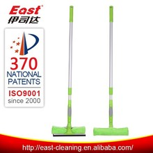 Alibaba China aluminum telescopic handle window wiper microfiber cleaning window squeegee