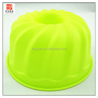 S-A0033 popular food grade material colorful silicone cake pan