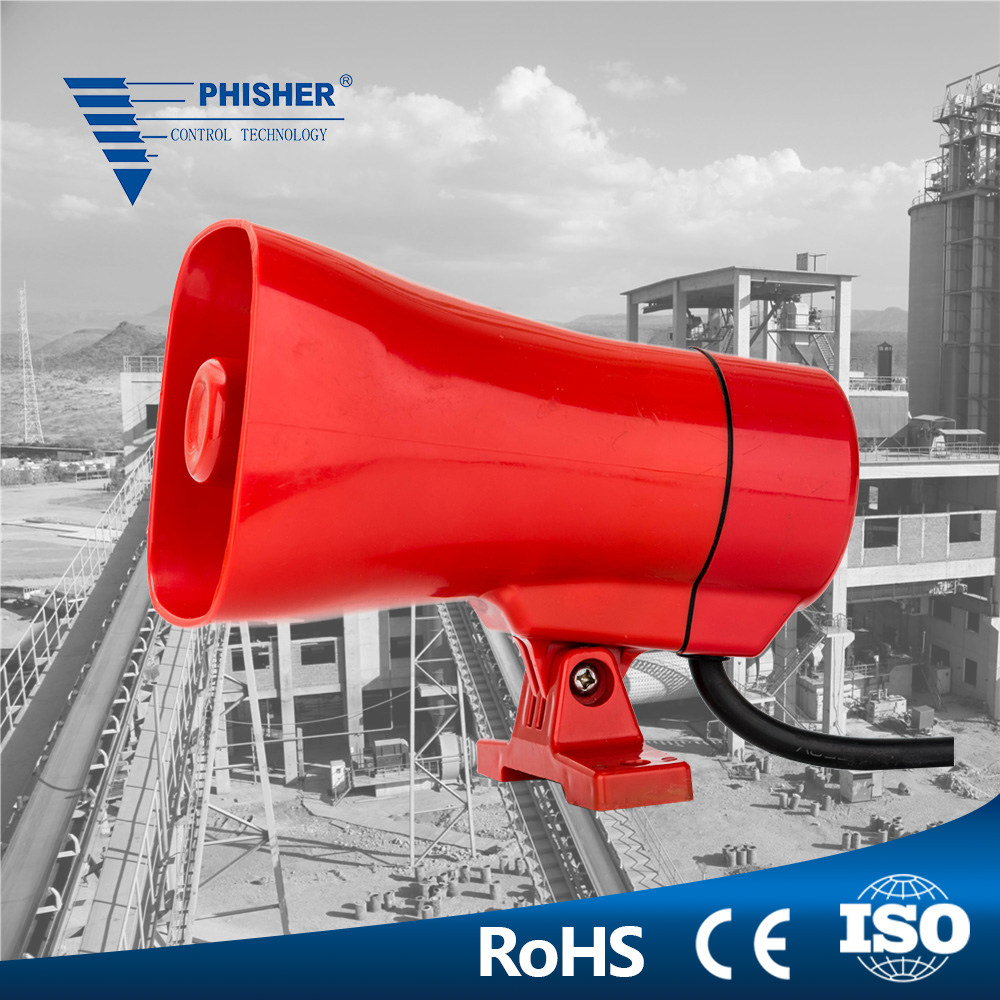 Electronic Alarm Horn Siren EC7120 for Industrial Manufacture