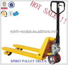 hydraulic pallet lifter CE certified / hand pallet truck china 2015