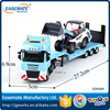 New alloy 1:50 scale model car transporter trailer die cast truck