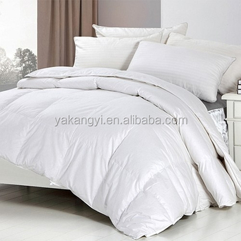 Good Quality White Goose Feather Duvet For Hotel YKY392
