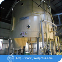 Easy operation sunflower cake solvent extraction machinery to get sunflowr oil