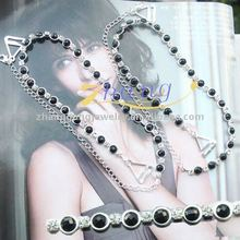newest design jewelry bra strap with pearl