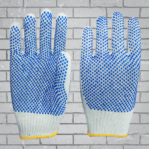 protection guard glove machine knit gloves