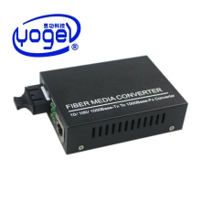 rj45 audio video fiber optic to coaxial media converter