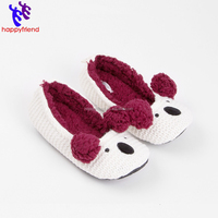 Cheap Cute Women Boat Shoes Cartoon Warm Soft Dancing Shoes
