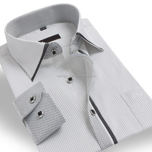 Direct manufacturer mens shirt designs 100% cotton Latest men's dress shirt