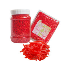 High Quality Food Grade White pink red pickled ginger slice