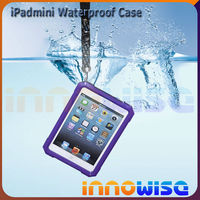 For ipad mini waterproof case 7 color available IPEGA