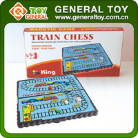 21*21*1.1cm Golding Plastic Magnetic Train Chess Game