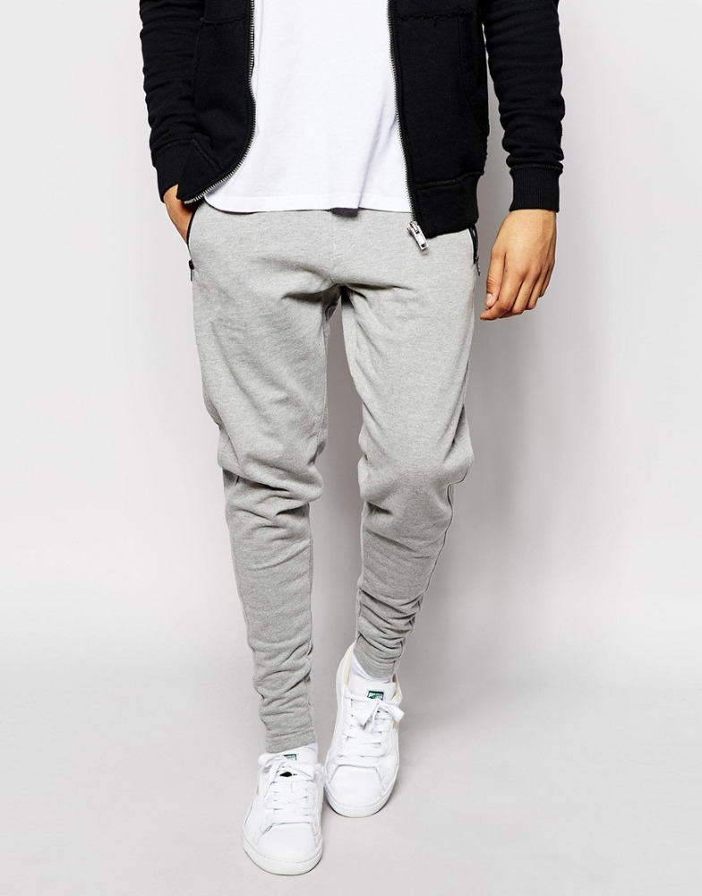 wholesale men jogger sweatpants jogger sweatpants blank slim fit jogger