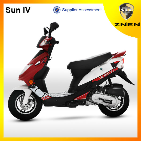 2017 best sale EURO 4 50cc gas scooter SUN with eec homologation