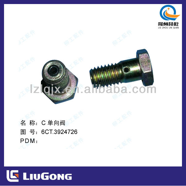 construction machinery parts/ liugong spare parts / cummins diesel engine part /SP100716 check valve