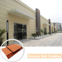 Linyi yongxin factory wood plastic composite exterior wall cladding