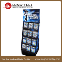 Long Feel in many styles and best selling cardboard stand display for picture books