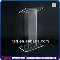 TSD-A721 crystal podium/ plastic podiums/ acrylic wedding podium