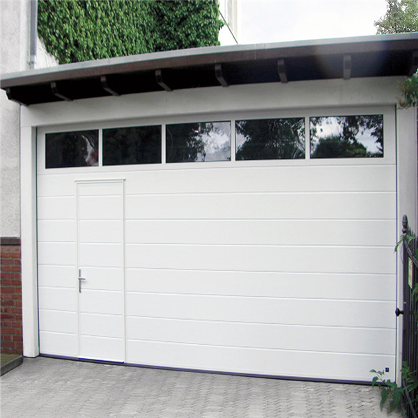 China Supplier Cheap Garage Door With Window Panel/Overhead Garage