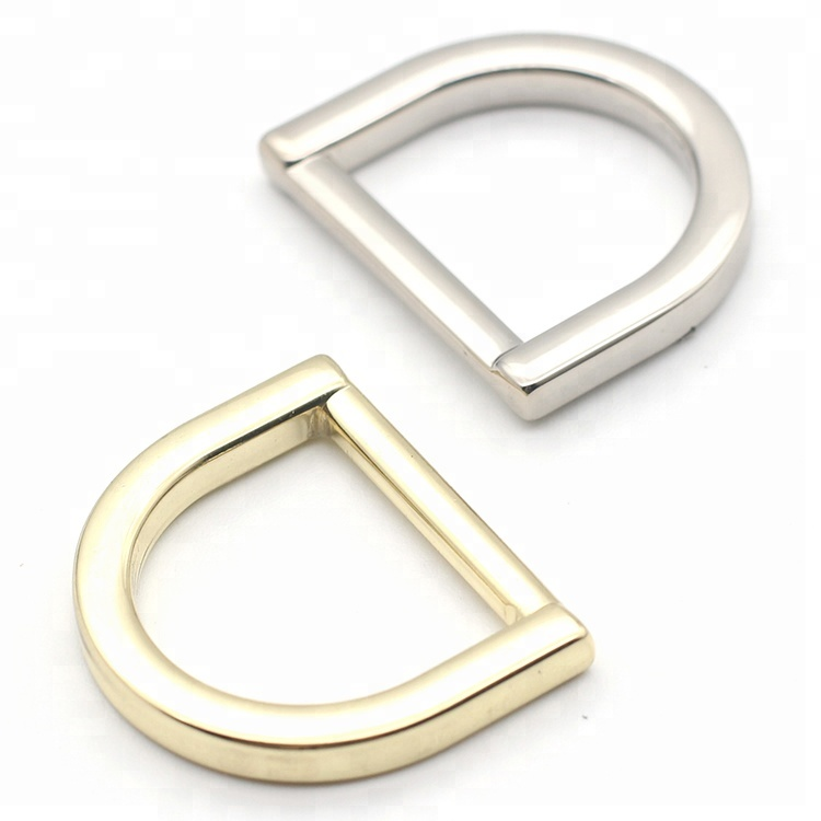 <strong>D</strong> shape buckle handle hardware bag accessories metal <strong>d</strong> ring for bags