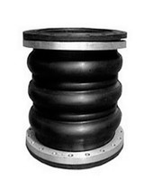 dn150 high pressure flexible coupling double sphere rubber expansion joint bellows