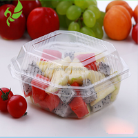 Fashion container fresh design clear blister fruit salad packaging Clamshell Container For Strawberry