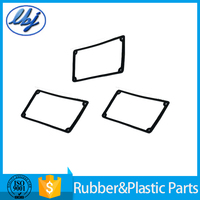 Square silicone rubber gaskets Made in China