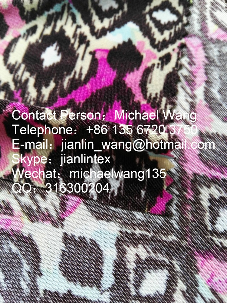 Jishengxiang print textile spandex polyester digital printing knitted FDY design your own cycle jersey