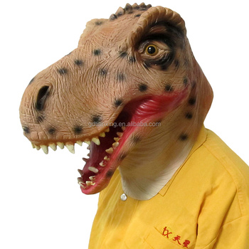 T-rex mask for children halloween party costume