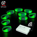 Wedding Decoration Centerpieces Custom Cheap Remote Control Lighted Wristbands for Runners