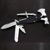 New hot product for 2015 stainless steel multi tools hatchet and hammer
