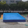 Large inflatable frame swimming pool FLIP