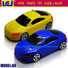 Fashion car amplifier with fm radio mp3 player