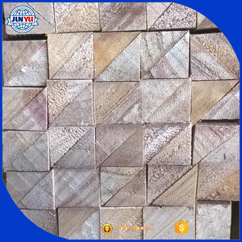 Construction Wood Chamfer Strip / triangle wood strips