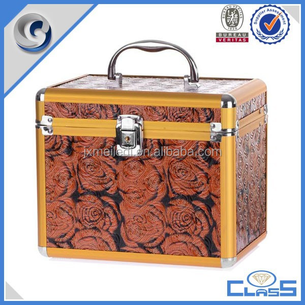 Professional Online travelling china wholesale wooden makeup case