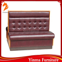 2016 Hotel furniture modern nappa leather sofa