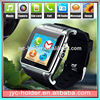 silicone bracelet , smart watch mobile phones ,H0T003 mobile watch phone with video call