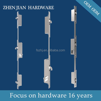 Aluminium sliding and hinge door lock body 3 point lock