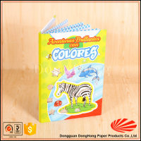 Bulk cheap Interesting children hardcover coloring book/filling book