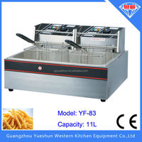 CE certified economical thickened potato chips electric deep fryer