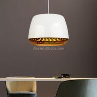 Contemporary simple white aluminum drum home/restaurant decoration pendant lights
