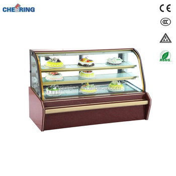 One year warranty cake refrigerator price muiti-climate cake fridge for sale