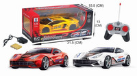 1:18 Hot new 4ch rc model car toy on car with light BT-003493