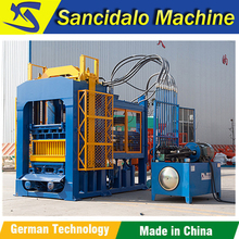QT8-15 automatic oman fly ash brick making machine with lowest price