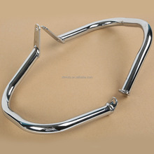 Chrome Engine Guard Crash Bar For Yamaha V-Star Dragstar 400 650 Classic 1998-12