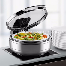 Full size Hydraulic Induction ceramic chafing dish With Glass Lid